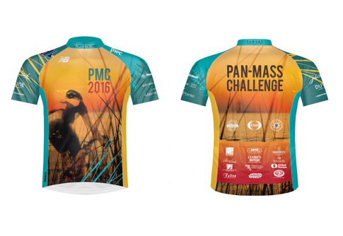 2016 Pan-Mass Challenge Ride Jersey