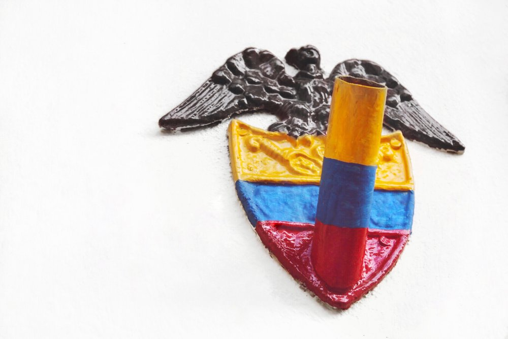 Colombian Flag Plaque
