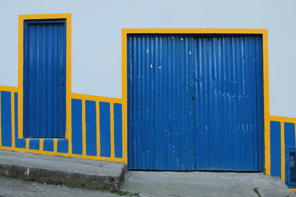 Blue & Yellow Facade