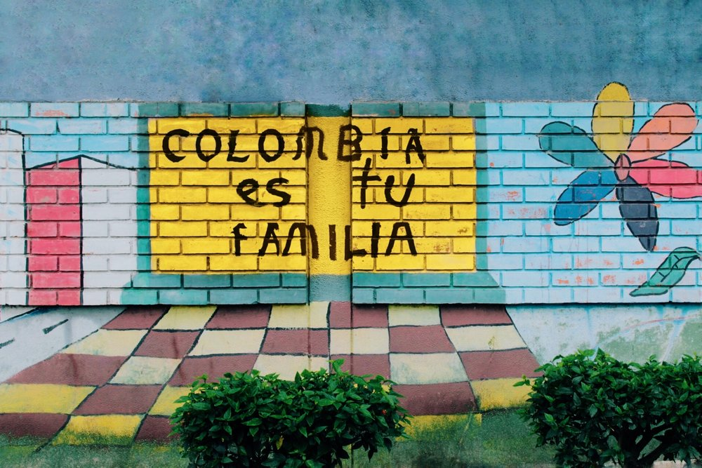 """Colombia Is Your Family"""