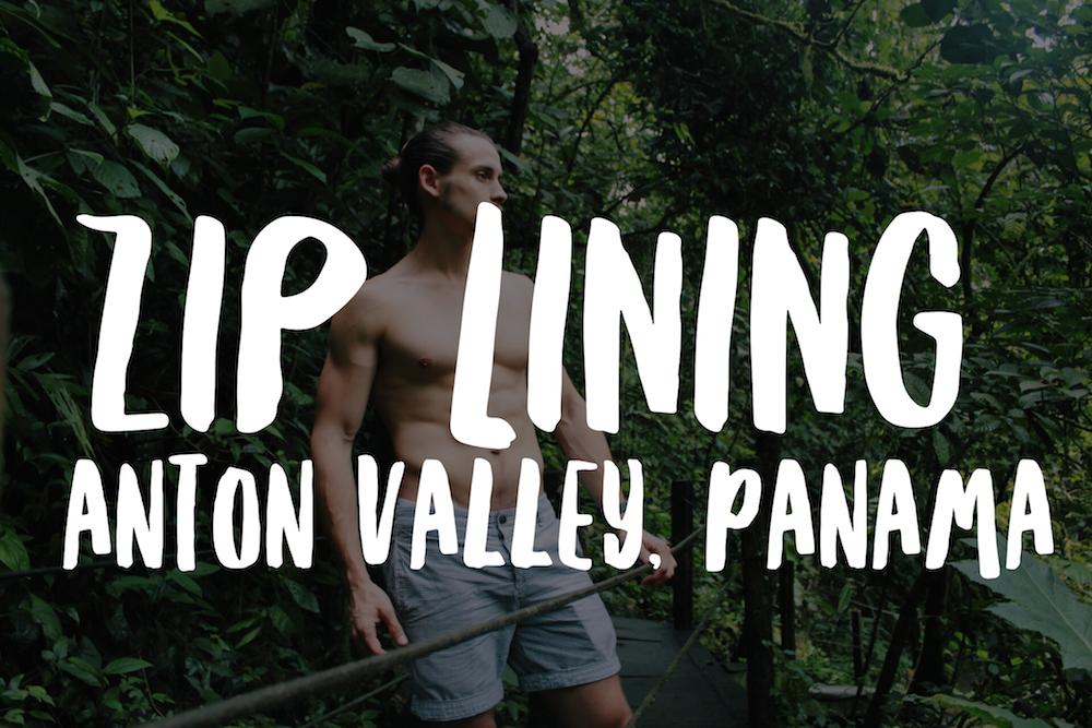 Antoón Valley, Panama - Ziplining