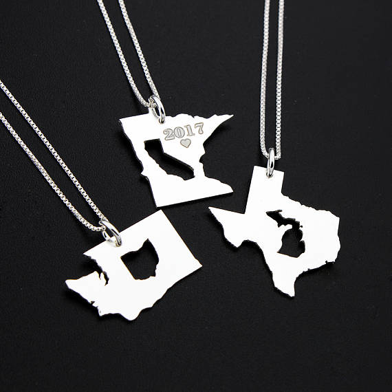 State-in-State Necklace