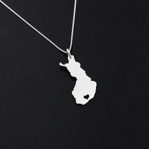 Finland Personalized Necklace