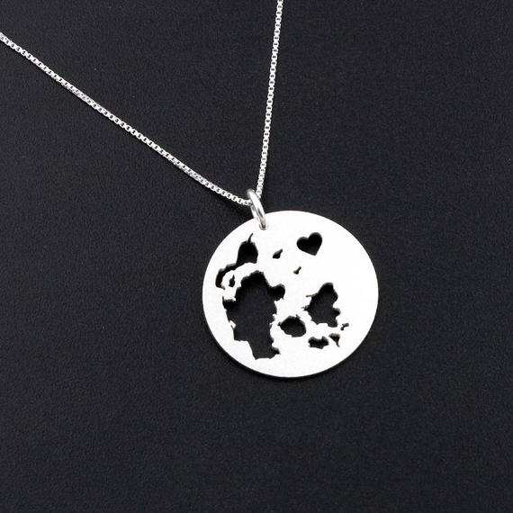 Denmark Personalized Necklace