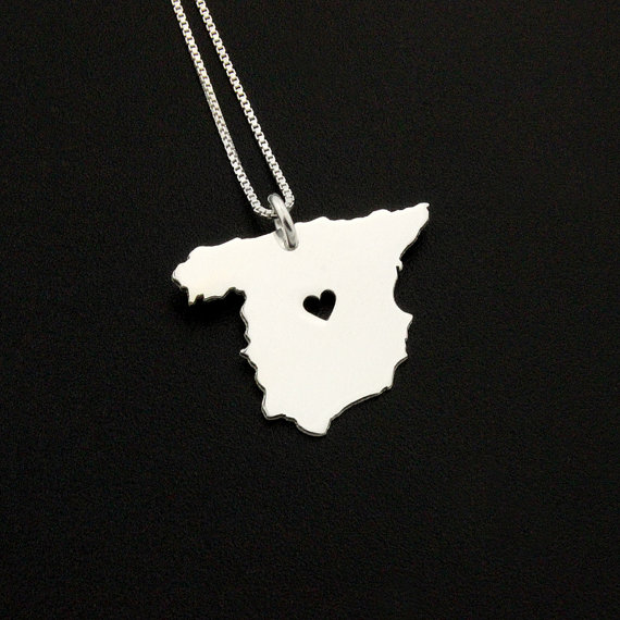 Spain Personalized Necklace