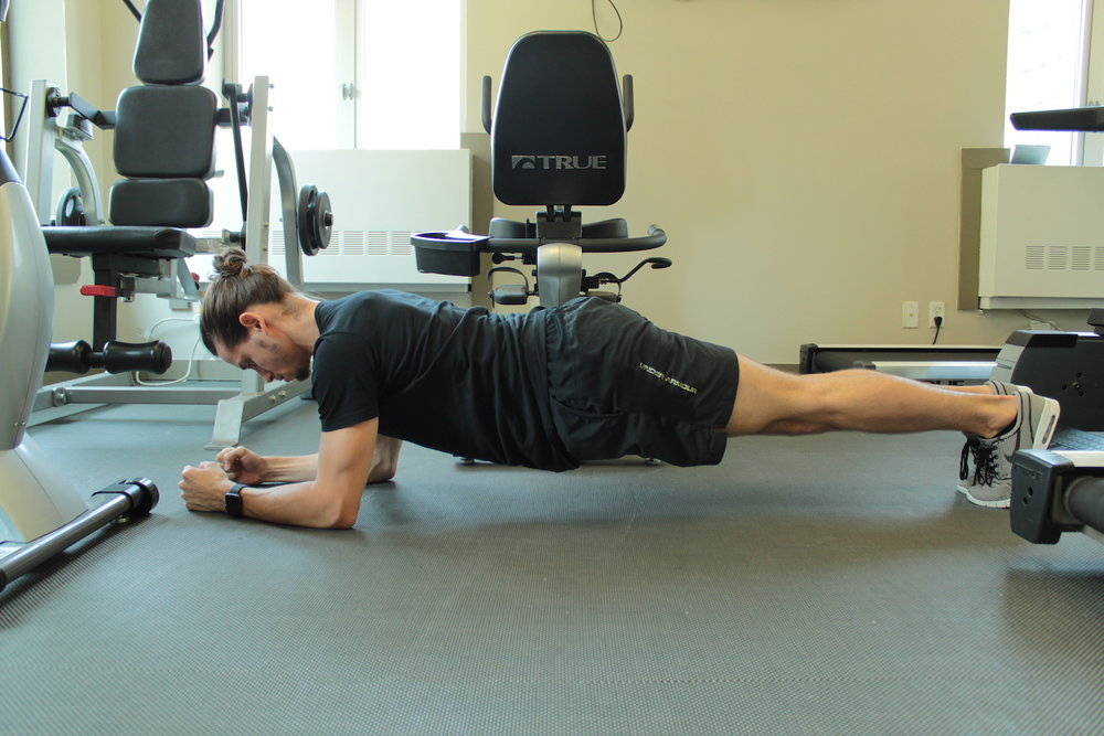Plank - 5 Post Vacation Workout Tips