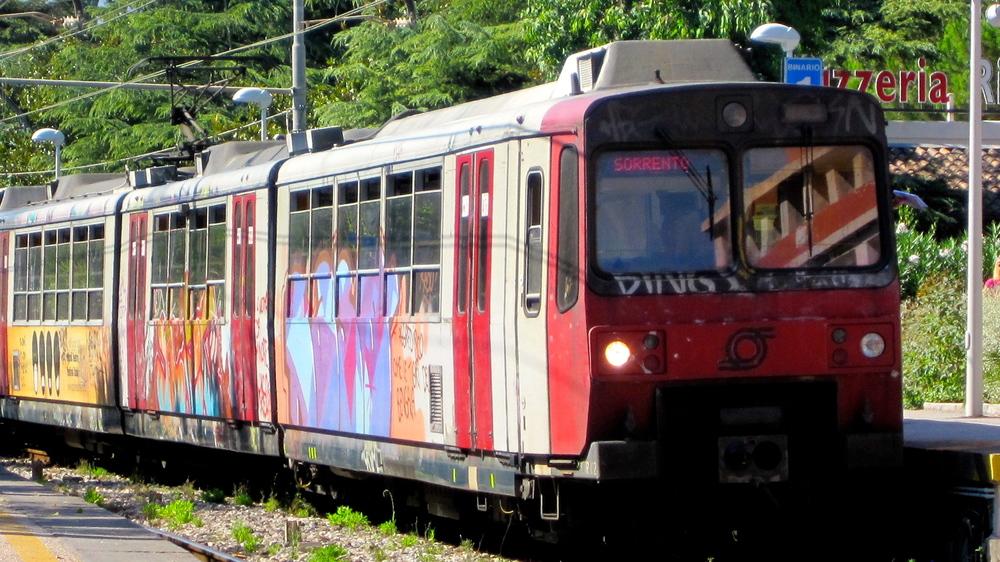 Il treno al Sorrento