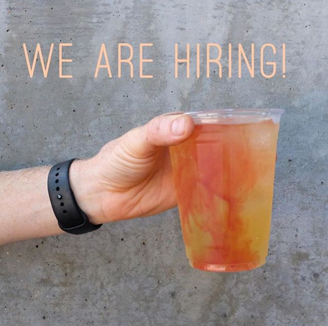 Refresh is looking to hire a barista! Email your resume and availability to hello@refreshcoffee.co
