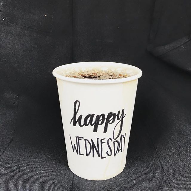 Serving up happiness this hump day! See you at the carts!