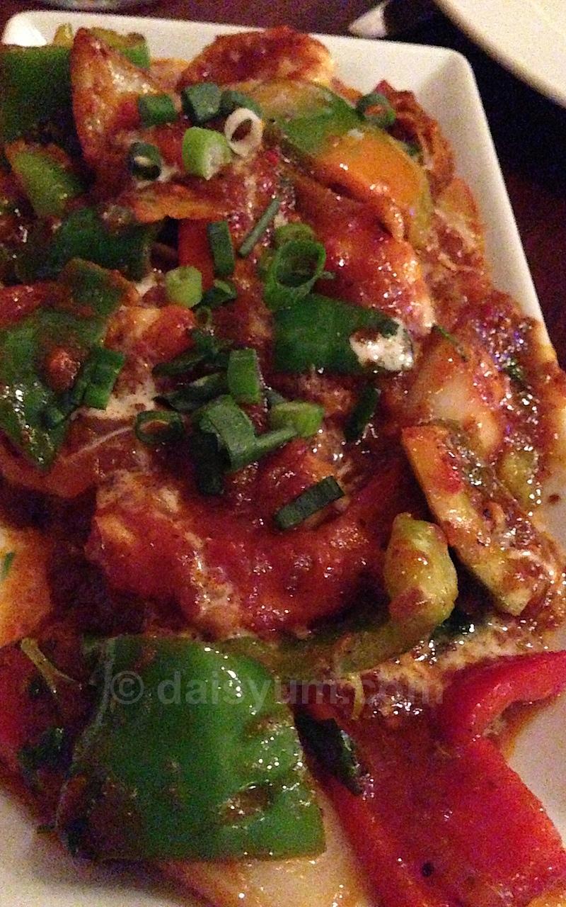 Udang Sambal - SA prawns in traditional sambal sauce, favured with belacan)