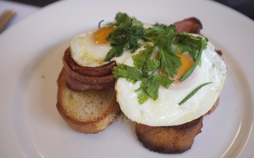 Botanic fried eggs Verde