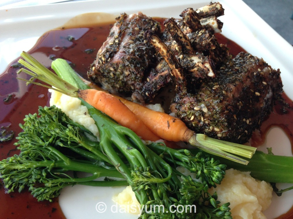 Murrayland Bush Dukkah crusted Lamb Rack