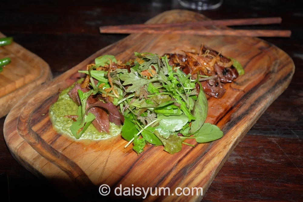 Chargrilled sirloin