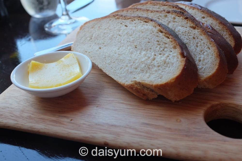 House Made Rye Sourdough and Butter