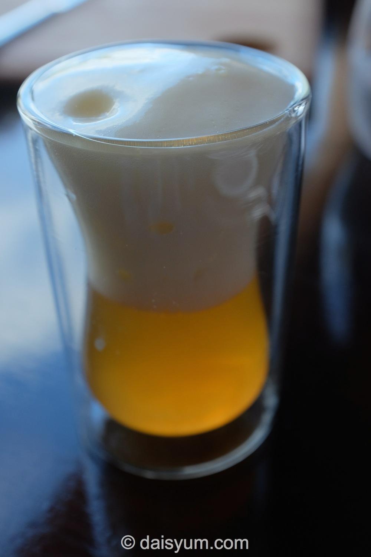 Shitake Broth with Celeriac Foam