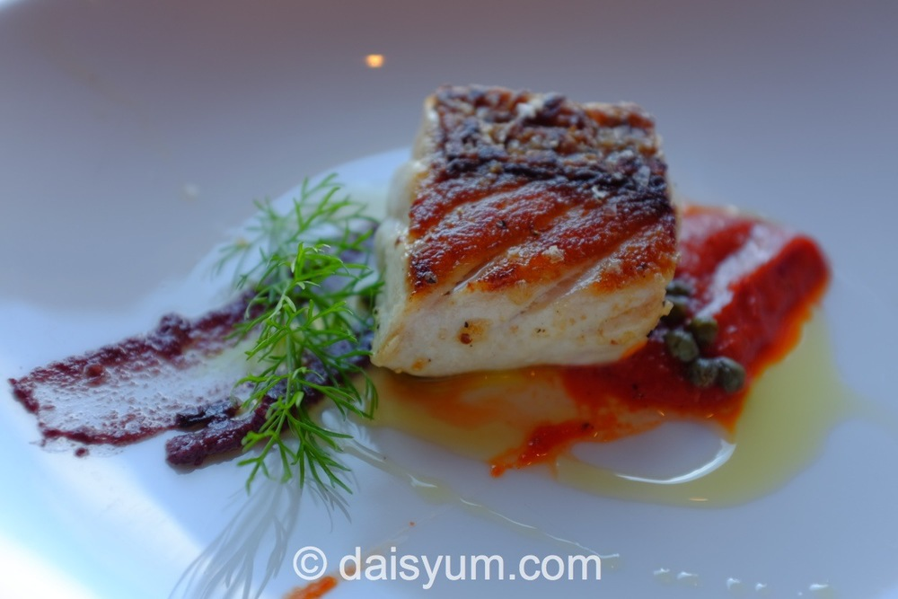 SA Red Snapper with Capsicum, Tapenade and Capers