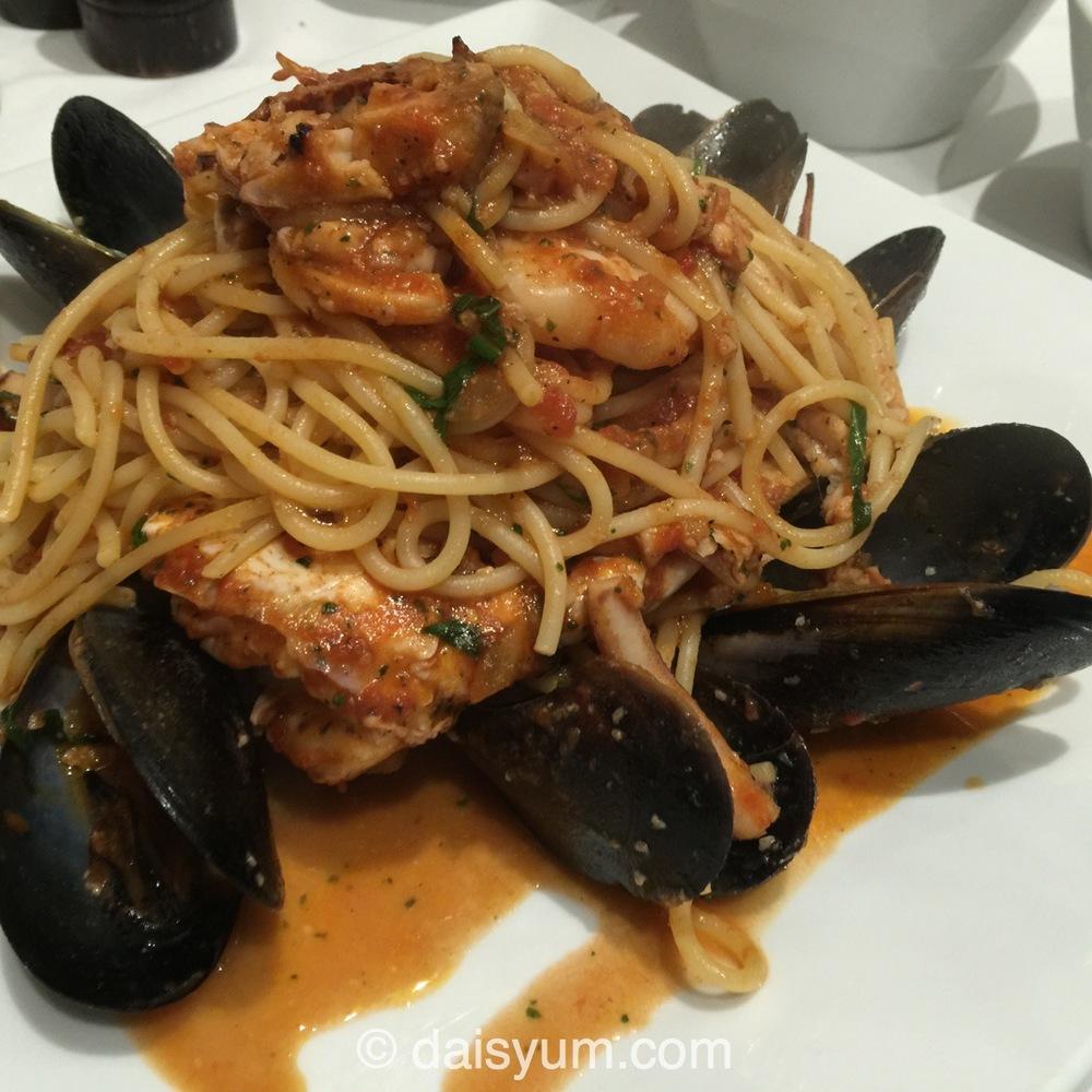 Spaghetti tutti mare