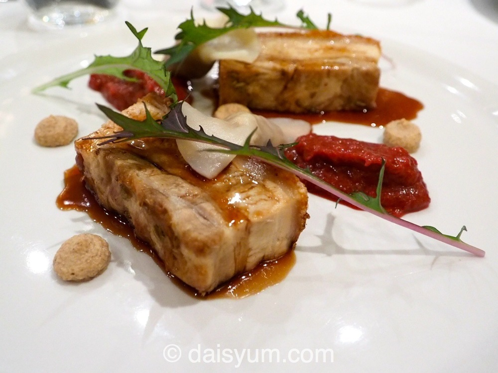 Crispy Loukoumi Pork Belly