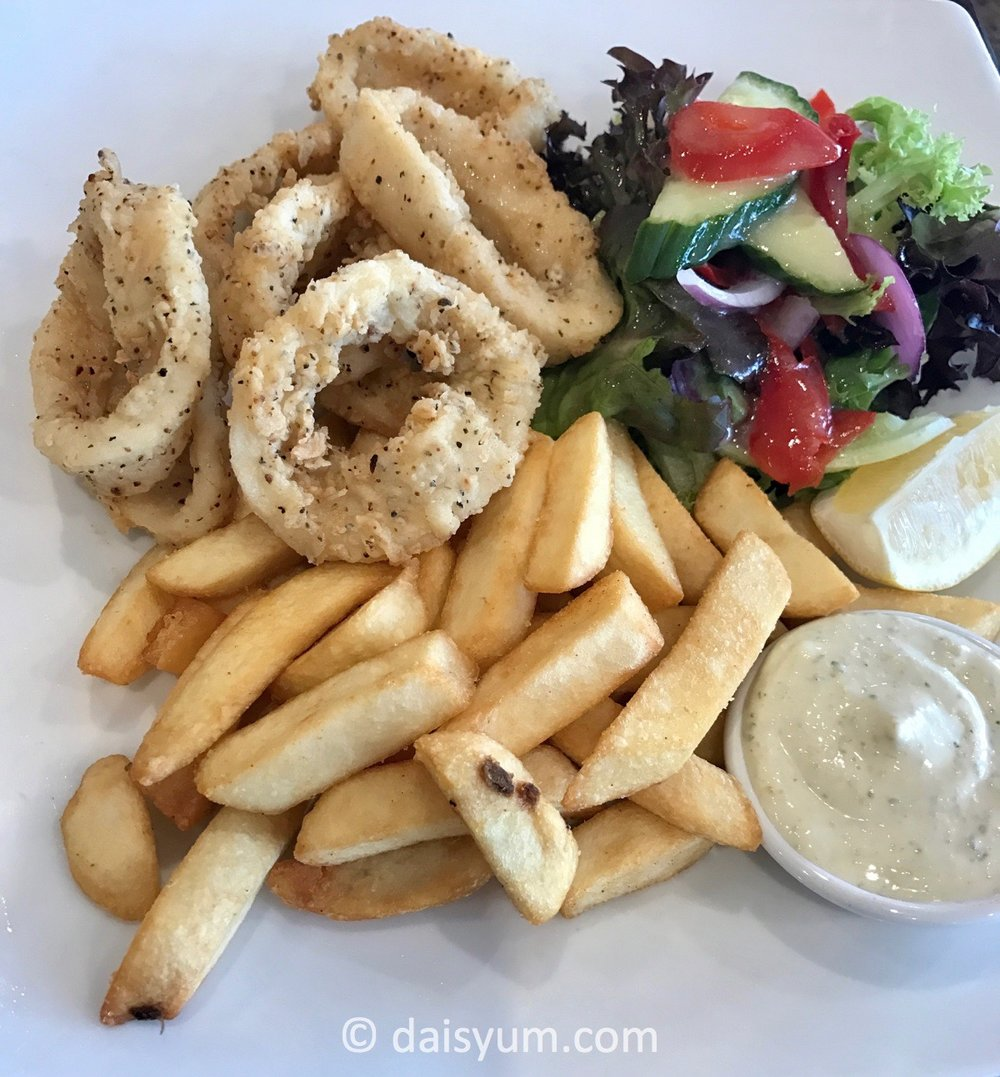 Salt and pepper squid - $9.90
