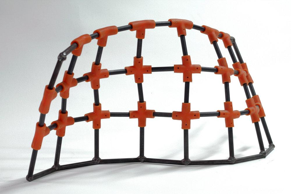 Fractal Weave Structure II-Maquette