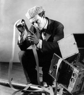 Film writer-director Buster Keaton.
