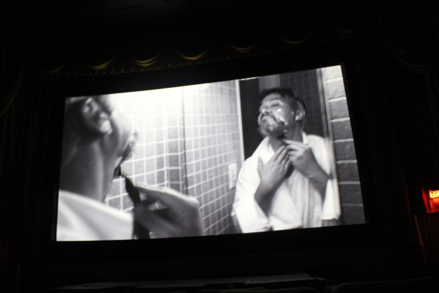 TAKEN IN screens at Atlanta's  Plaza Theatre , 22 August 2011.