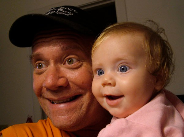Alan Ray, DP for GET BETTER, with his daughter Brianna.