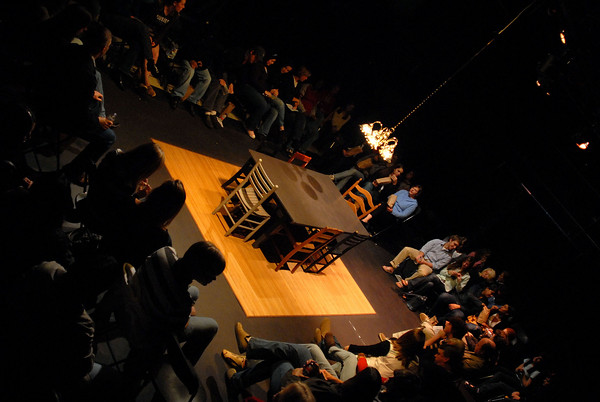 """""""The Dining Room"""" \ Directed by Chris White for J.L. Mann High School, Fall 2007."""