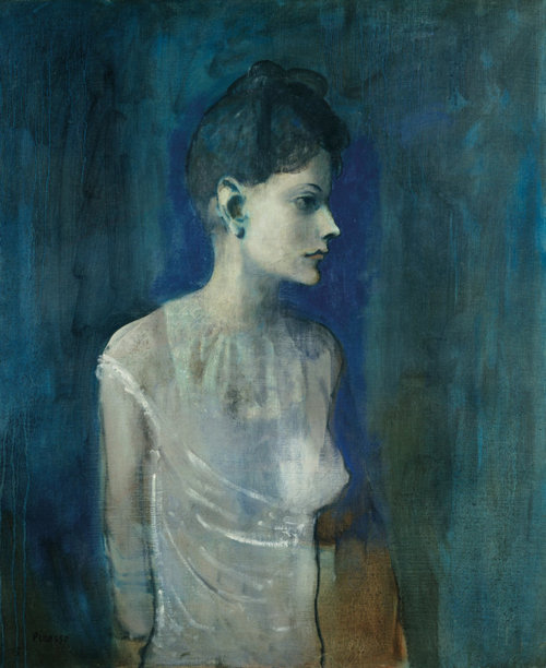 """""""Girl in a Chemise""""  Pablo Picasso  1905"""