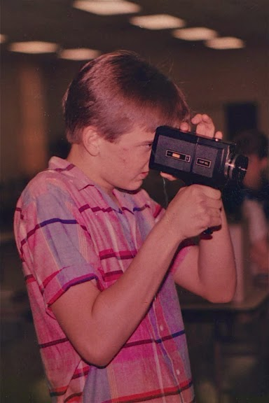 Age 16. Directing ED THE MOVIE. West Columbia SC USA,