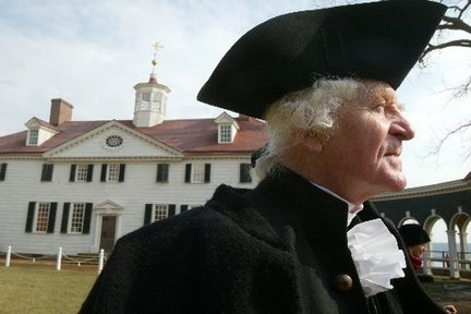William Sommerfield at Mount Vernon