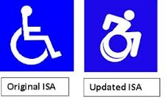 Should the Lakeshore Embrace Active Wheelchair Logo ... Handicap Logo Redesign