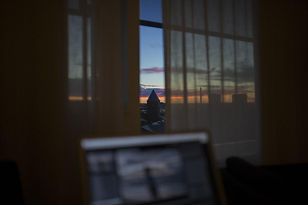 Nästa boende, då vill jag antingen ha så jag kan se solnedgång eller soluppgång... så e det...