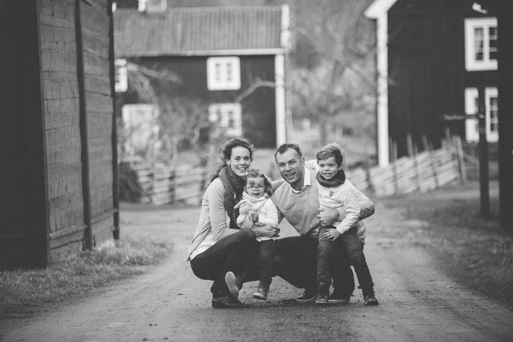 Familjefotografering Oskarshamn Stensjö by