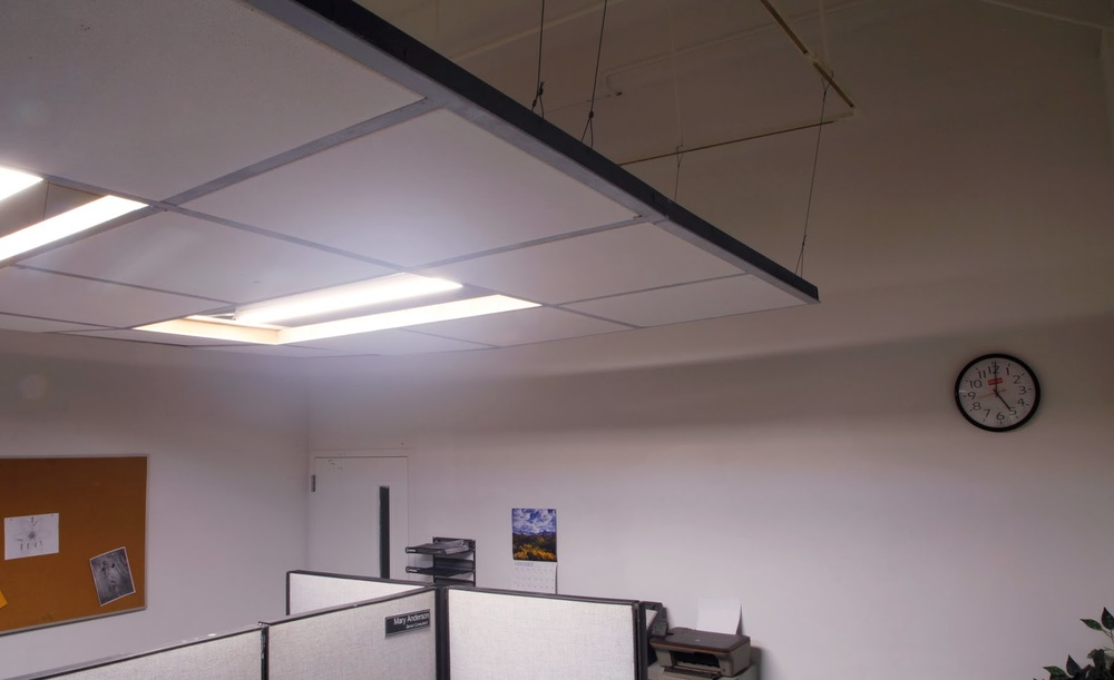 Office Space Dropped Ceiling