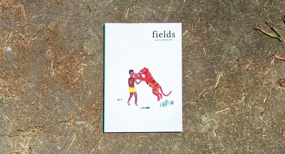 Feature in the 4th issue of Fields Magazine Summer 2015 Cover by Manik Raj Nakra