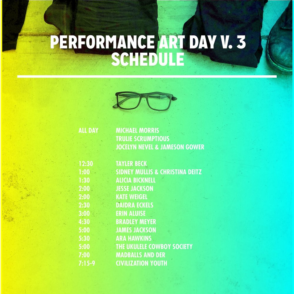 Performance Art Day Wild Goose Creative October 1, 2016 Columbus, OH