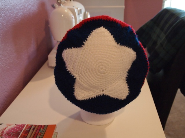 captain america - hat