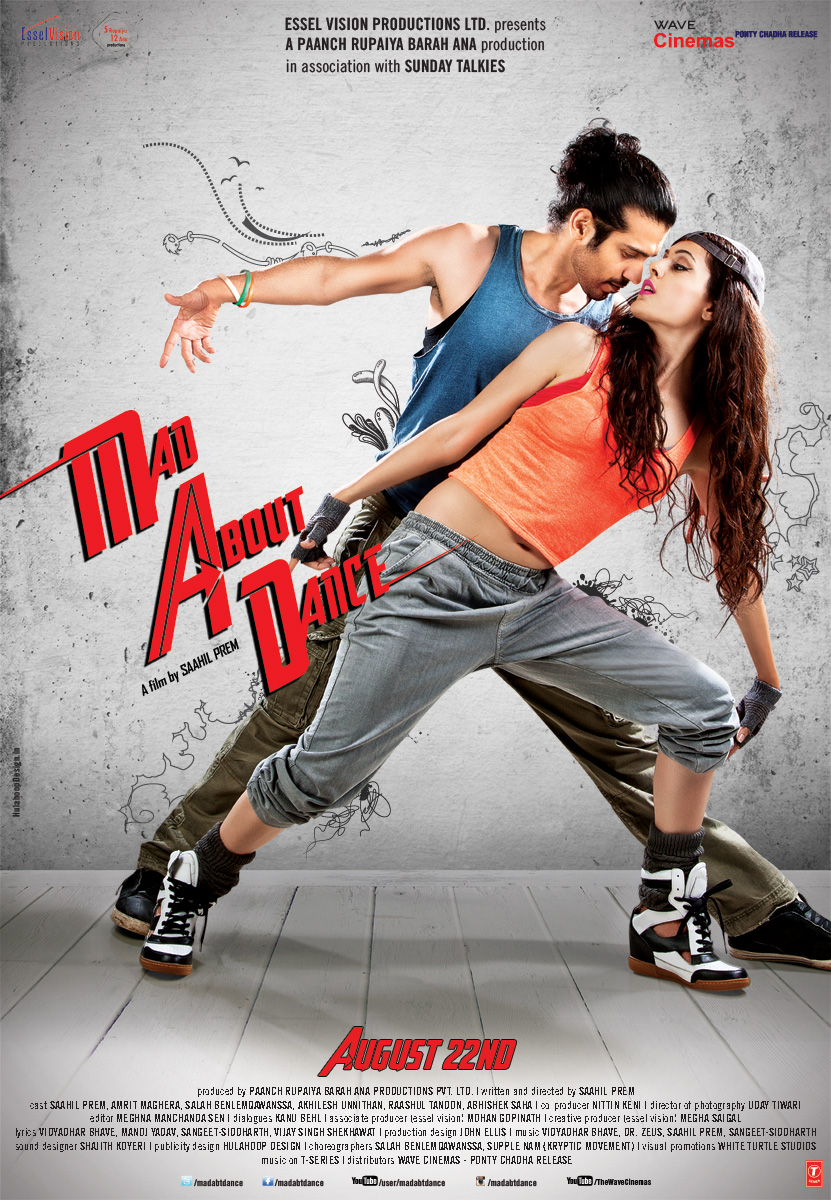 Mad About Dance - Film Poster