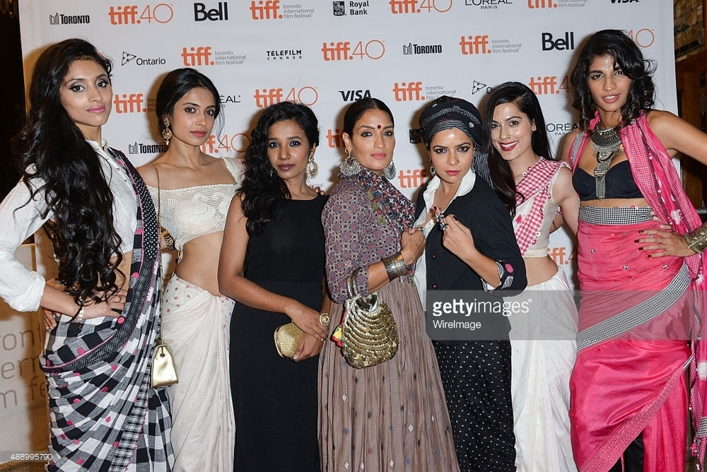 'Angry Indian Goddesses' at the premiere at TIFF 2015