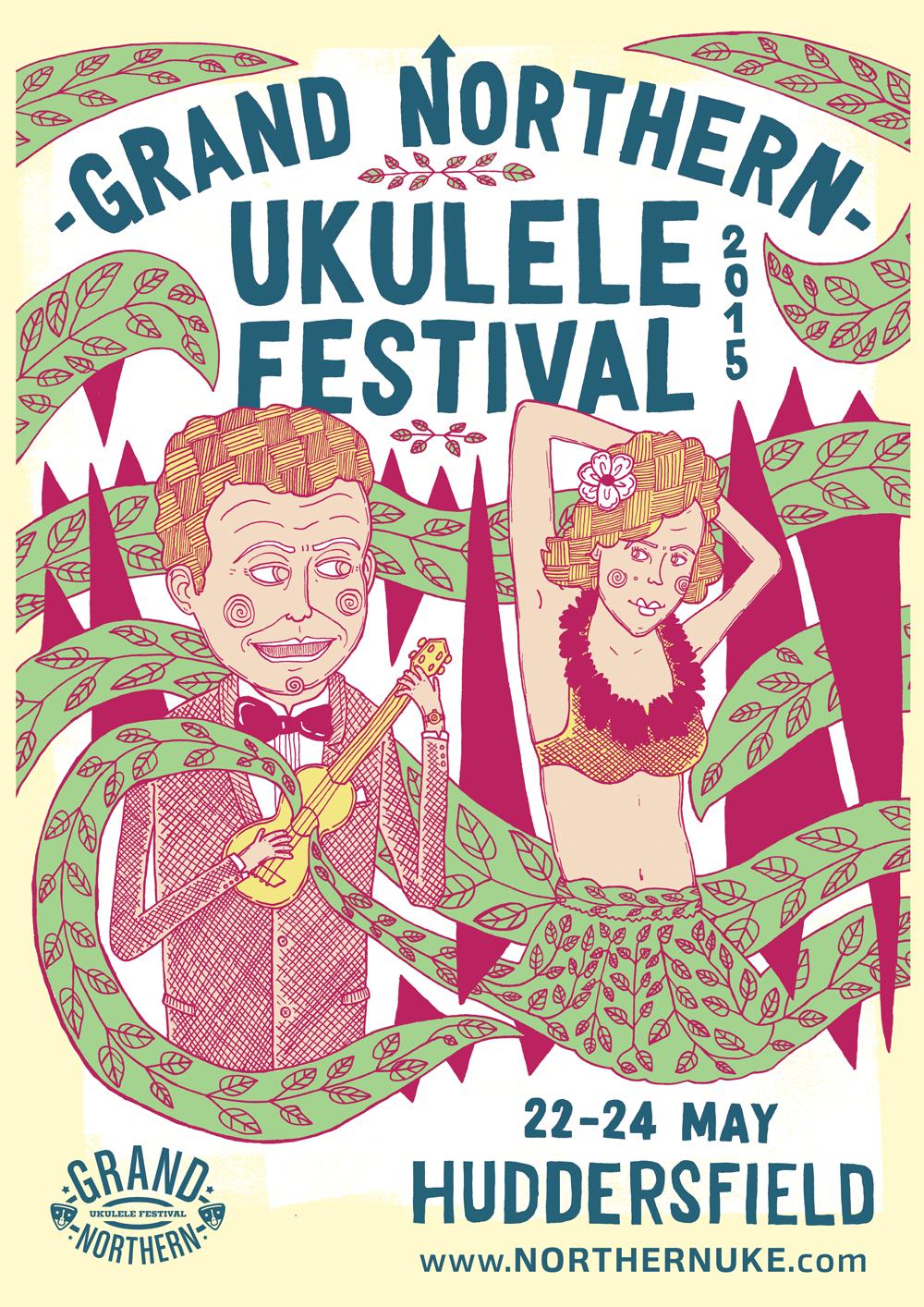 Gig Poster: GNUF 2015