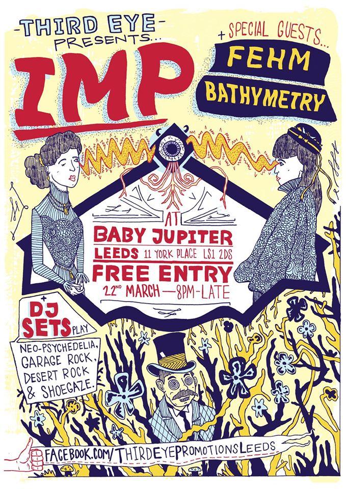 Gig Poster: IMP, Leeds