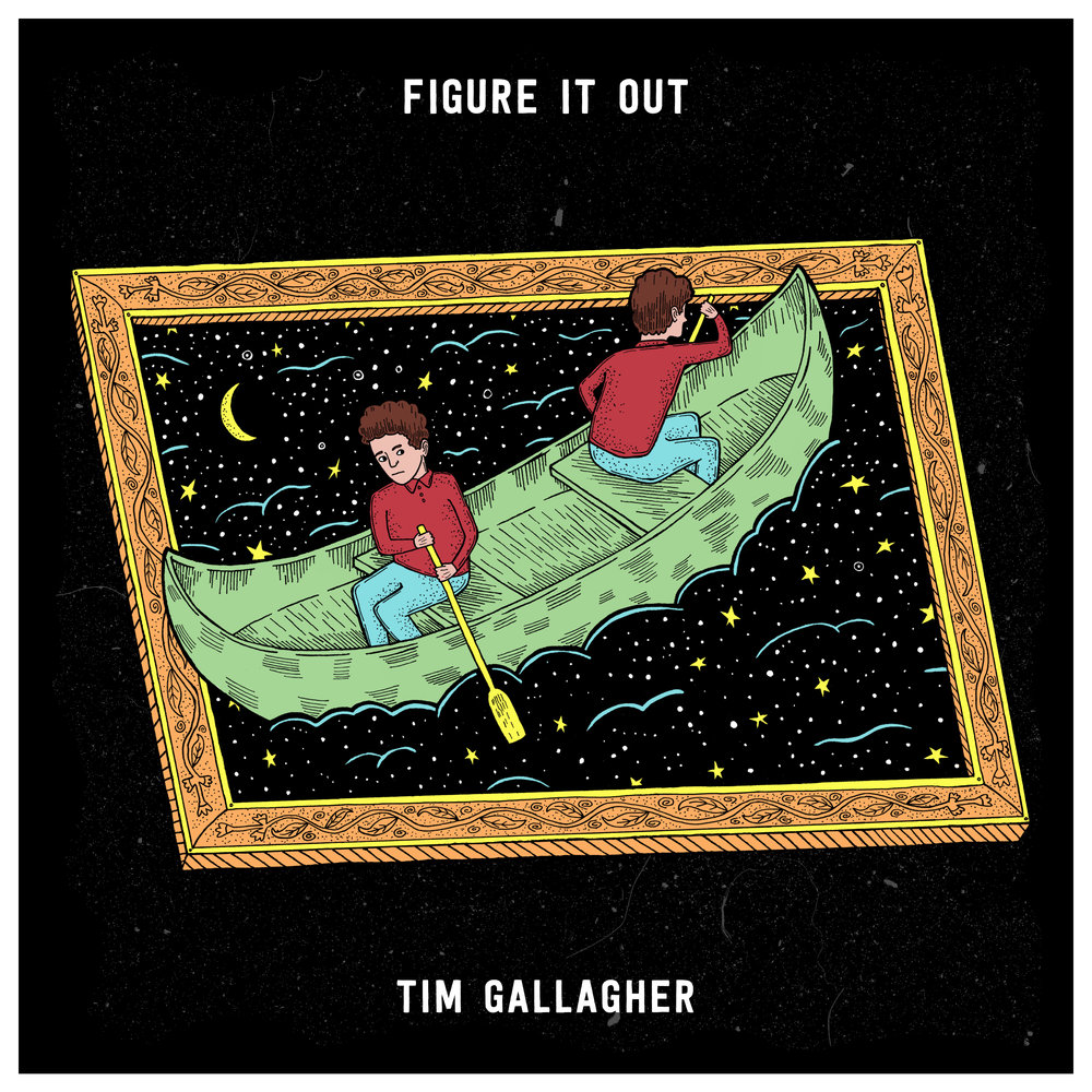 Artwork for single by Tim Gallagher - 'Figure It Out'
