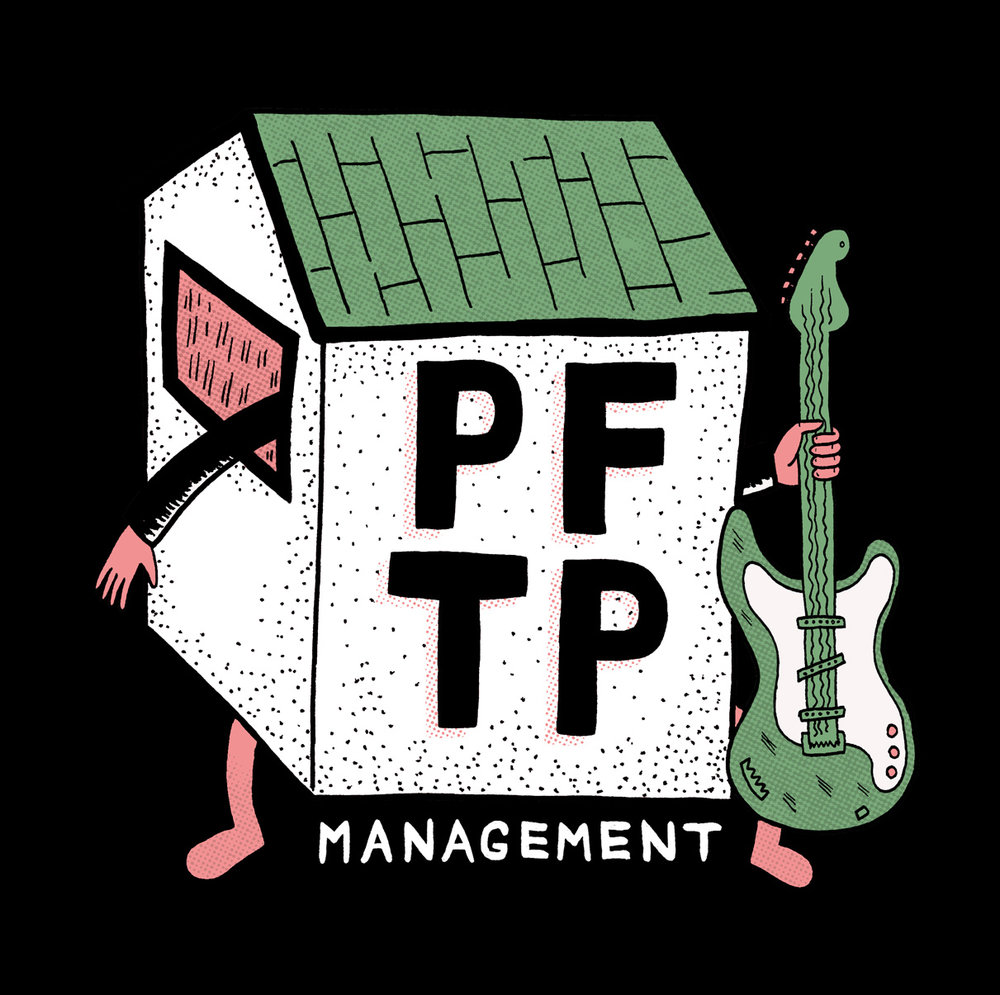 Illustrated Logo Design - PFTP Band Management