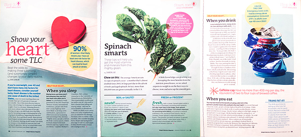 Weight Watchers Magazine. Jan/Feb 2014 issue