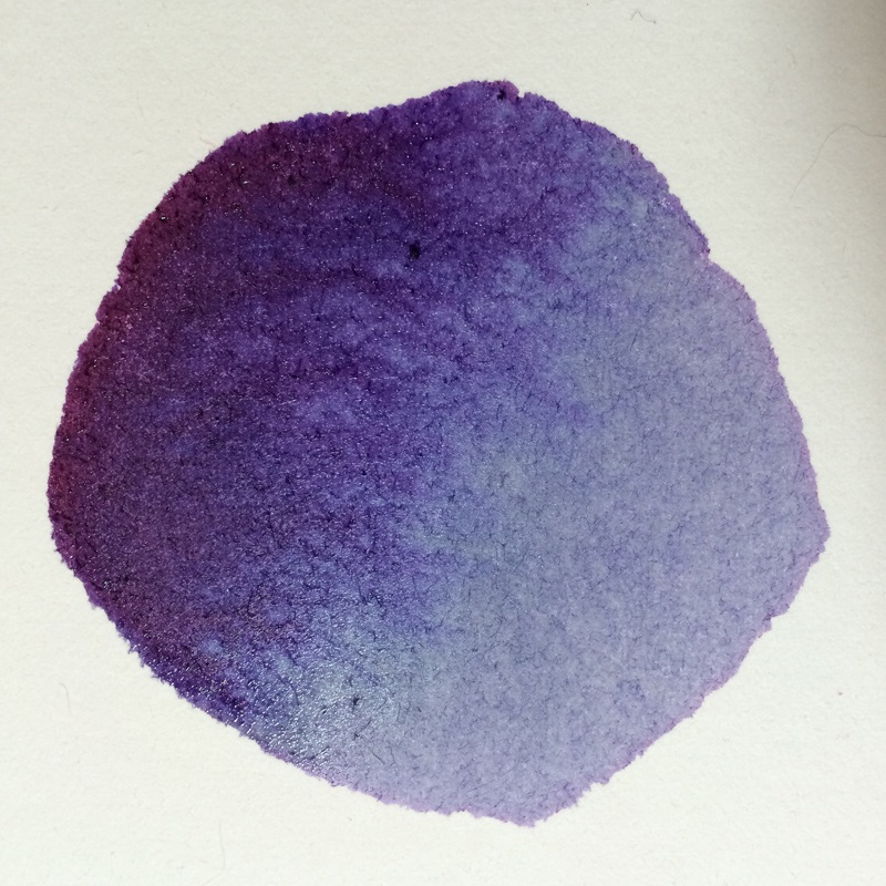 blueberry ink. No filter.