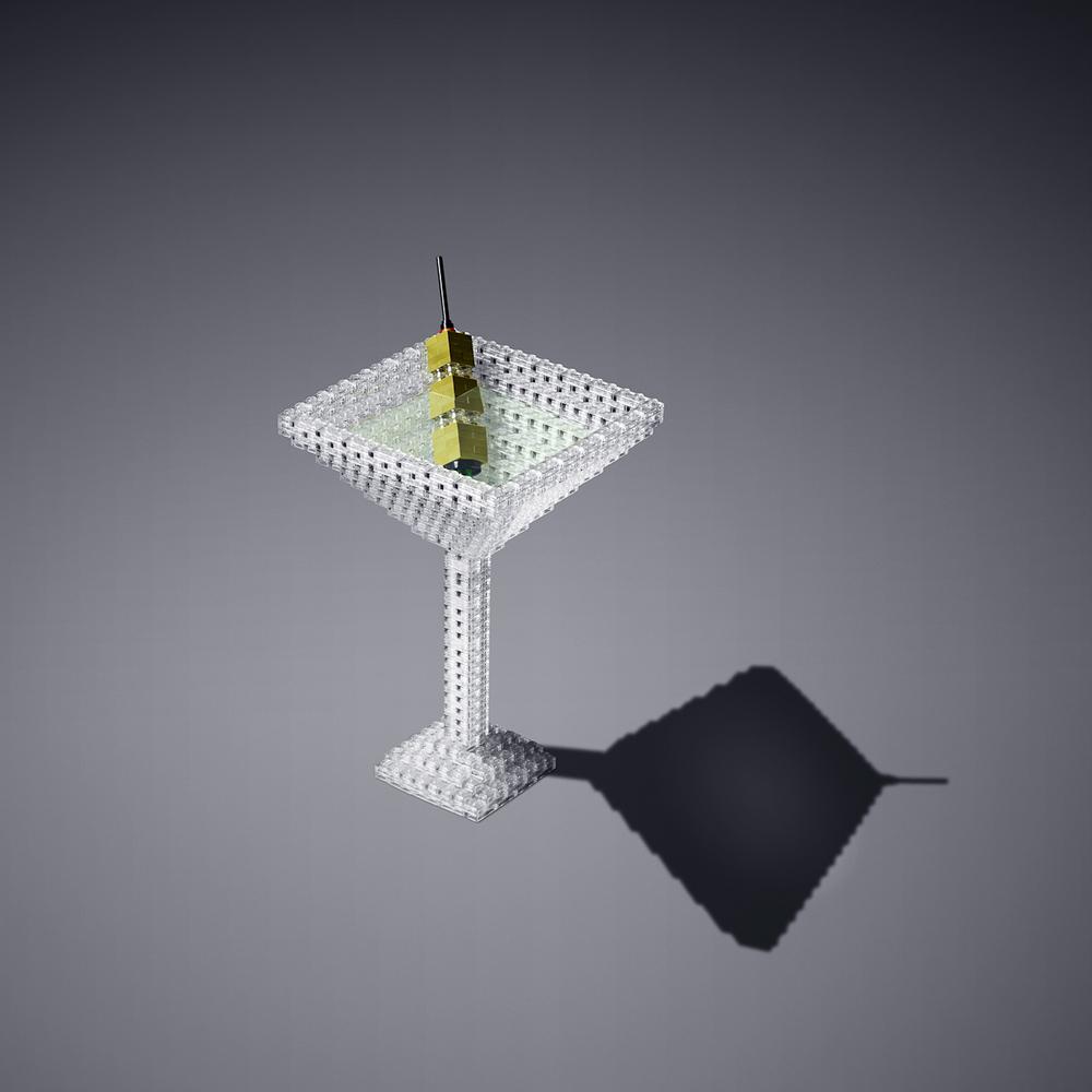 Lego my martini ...