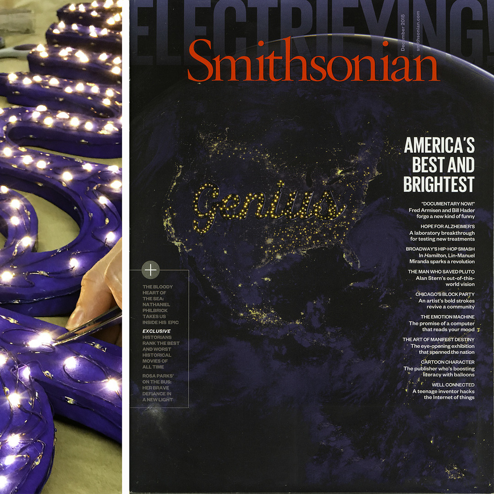 Smithsonian Magazine, December 2015 issue
