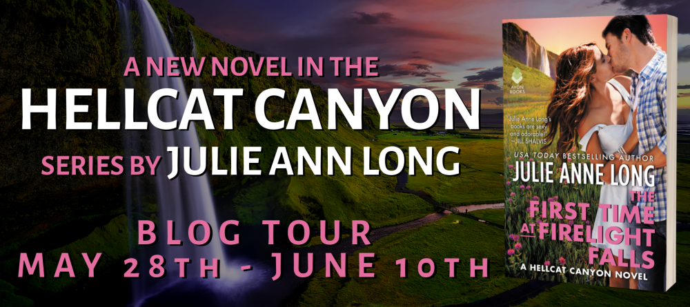 The First Time at Firelight Falls by Julie Anne Long - Tour Banner 1000.png