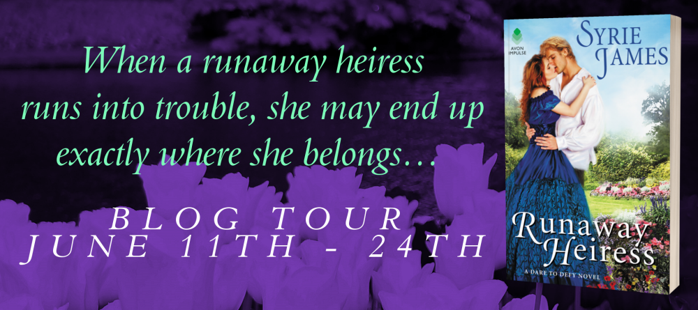 Runaway Heiress by Syrie James - Tour Banner 1000.png